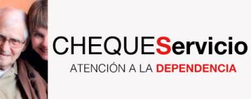 El Cheque Servicio es una ayuda económica subvencionada por la Comunidad de Madrid, y que forma parte de las ayudas a la Ley de la Dependencia. Esta prestación económica es concedida mensualmente y pe